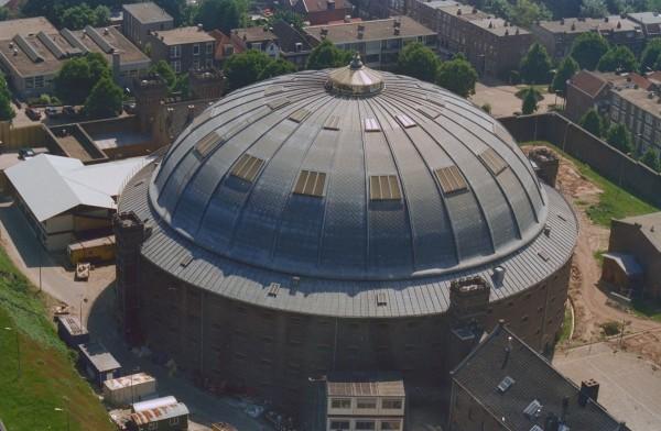 Koepelgevangenis Arnhem Foto: RCE via wikimedia