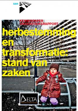 Voorpagina SBR kennispaper herbestemmen. Foto via SBR.