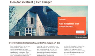 Voorbeeldpagina MijnMonument.nl