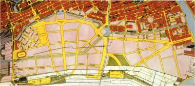 Plan Amsterdam Zuid 1922.