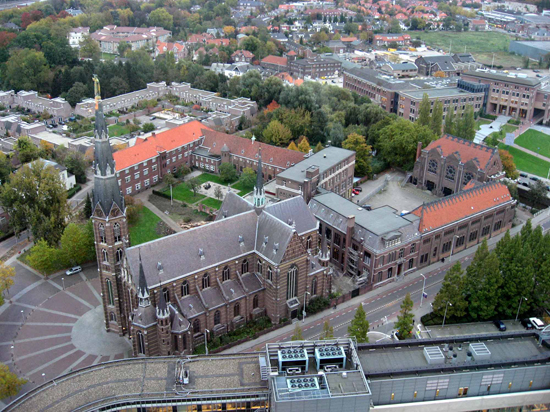 Luchtfoto Mariënhage - Foto: Gemeente Eindhoven