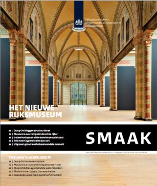 SMAAK Rijksmuseum. Afbeelding: Rijksgebouwendienst