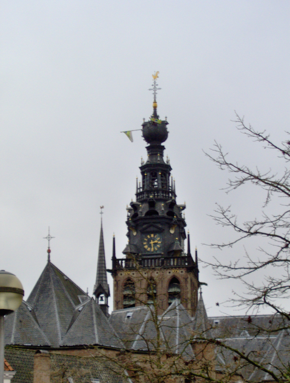 Stevenstoren in Nijmegen. Fotograaf: Tubantia