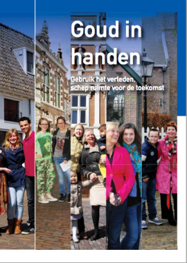 Publicatie 'Goud in handen' via kunsten92.nl