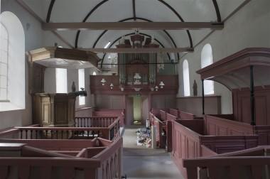 Kerk Wier tijdens restauratie. Foto via Ioannistheatertsjerkewier.nl