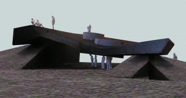 Visualisatie van Project DWG (Michiel de Wit met artistieke input van kunstenaar Filip Jonke)