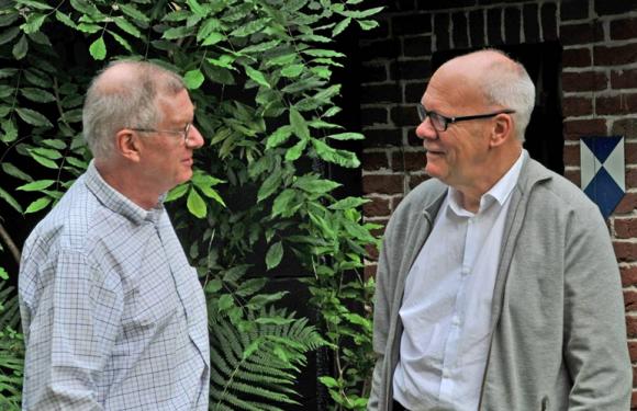 Links: Evert Jan Nusselder; rechts Job Roos