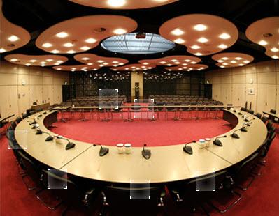Commissiezaal Tweede Kamer. Foto tweedekamer.nl