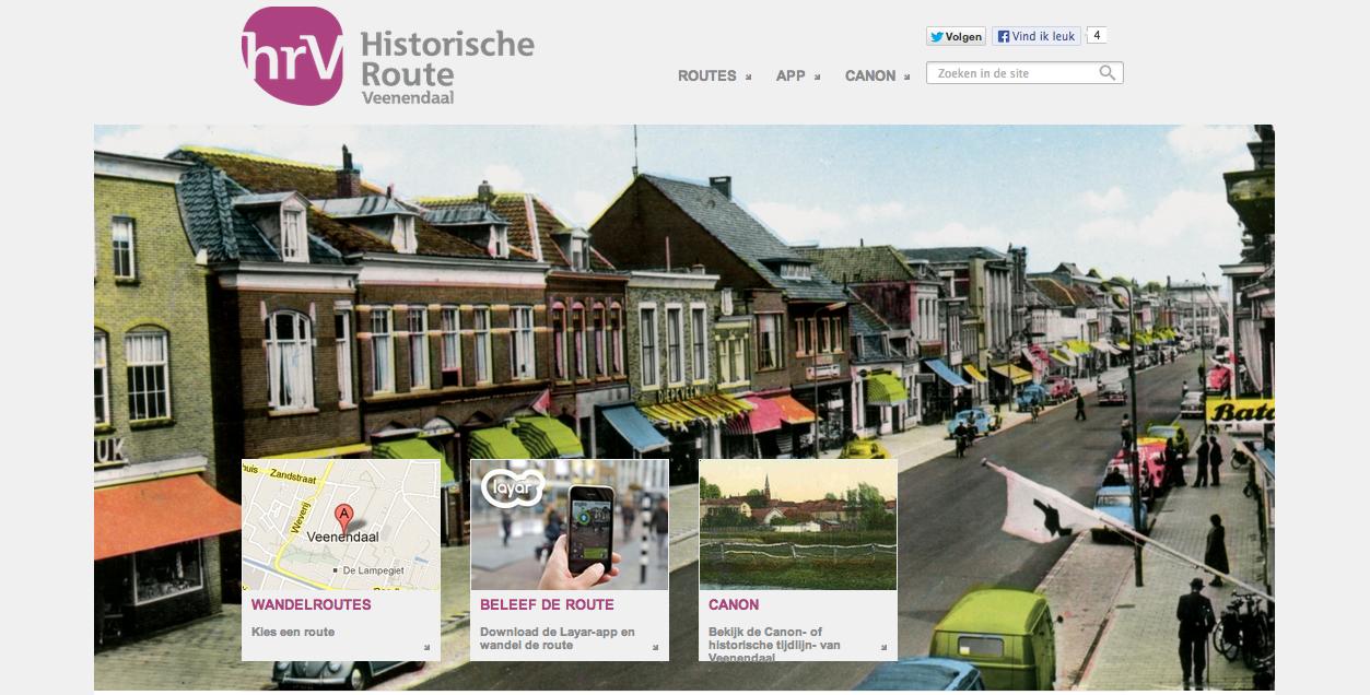 Beeldcitaat  website Historische Route Veenendaal