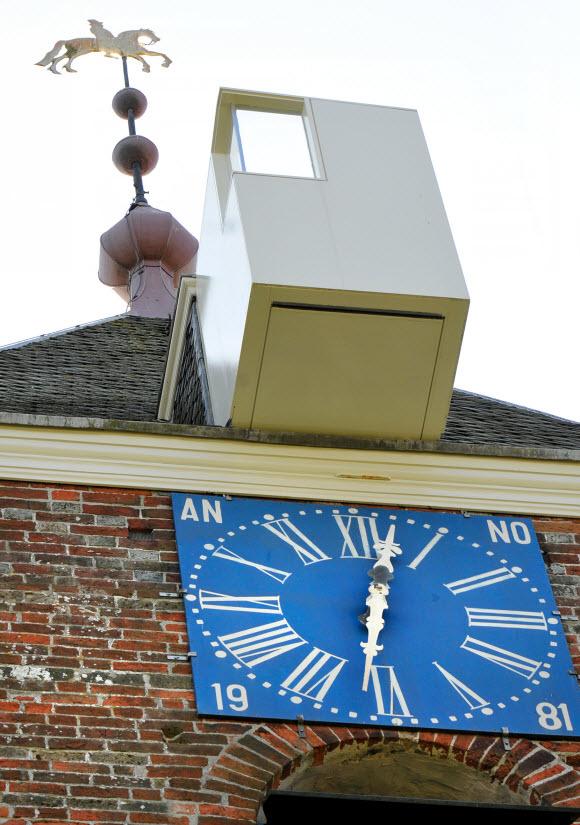 Balkon toren Uitwierde. Foto: SOGK