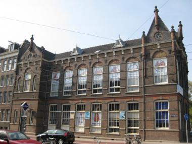 Vm jongensschool, Marnixstraat 2 Amsterdam. Foto: Marion Golsteijn via wikimedia