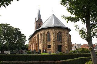 Hervormde Kerk van Wijnaldum Foto: Pa3ems via wikimedia