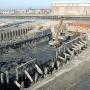 Rijksmonumentaal droogdok Vlissingen uitgegraven