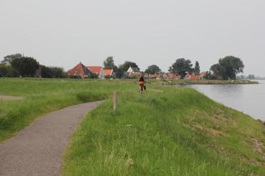 De Waterlandse Zeedijk bij Uitdam, Noord-Holland. Foto: RCE