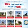 Publiek kan stemmen voor molenrestauratieprijs