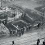 Wat was de eerste kerk op het Utrechtse Domplein?