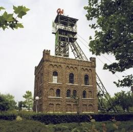 Schachtgebouw Oranje-Nassaumijn I Heerlen.