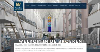Beeldcitaat  website Waanders in de Broeren. Bron: waandersindebroeren.nl