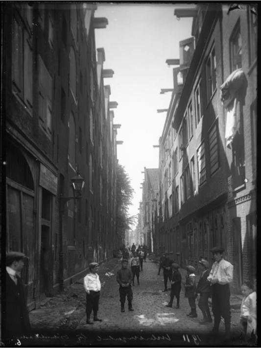 Joods Amsterdam. Foto: Stadsarchief van de Gemeente Amsterdam