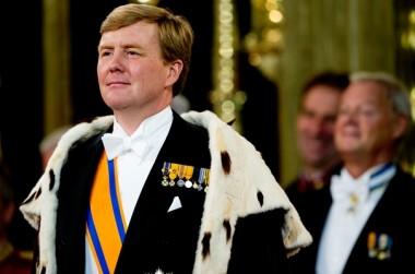 Koning Willem-Alexander, 30 april 2013 Foto: ANP