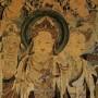 Verpeste restauratie Chinese 17e-eeuwse wandschildering