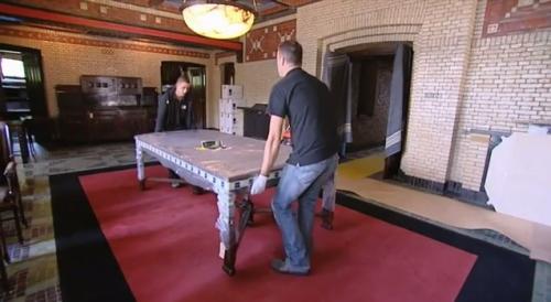 Restauratie St Hubertus (videostill)