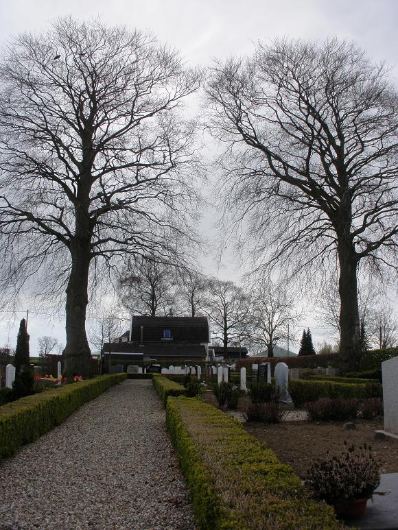 Begraafplaats Hekendorp aan de Hekendorpse Buurt. Foto: Onderwijsgek
