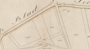 Detail historische kaart via watwaswaar.nl