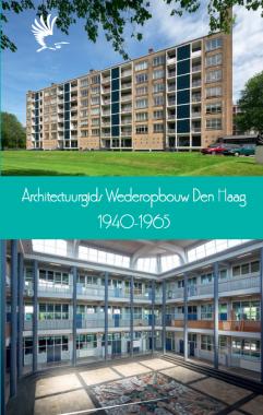 Omslag architectuurgids wederopbouw Den Haag