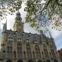 Torenspits stadshuis Veere eraf vanwege Bonte knaagkever