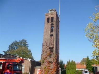 brandweertoren. Foto via valkenwaard.gezien.nl