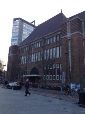Postkantoor op de Neude in Utrecht foto: Erfgoedstem