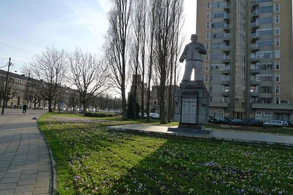 Berlage Monument Amsterdam, Beeld Hildo Krop Foto: Franklin Heijnen