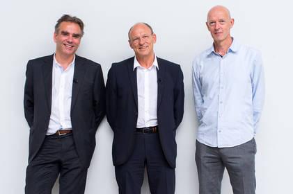 College van Rijksadviseurs vlnr: Eric Luiten, Frits van Dongen, Rients Dijkstra. Foto: Rijksoverheid