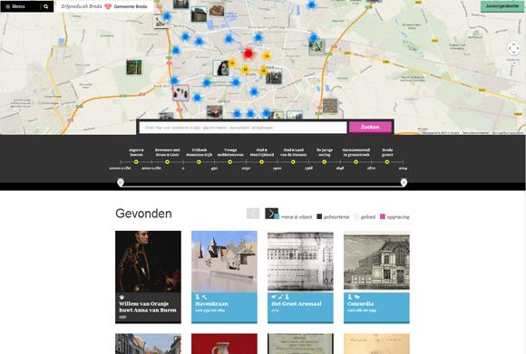 Nieuwe erfgoedwebsite van Breda