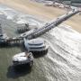 """""""Sloop Scheveningse pier en maak nieuwe bij het Kurhaus"""""""