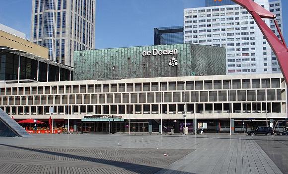 Rotterdam, concertzaal De Doelen. Foto: F.Eveleens