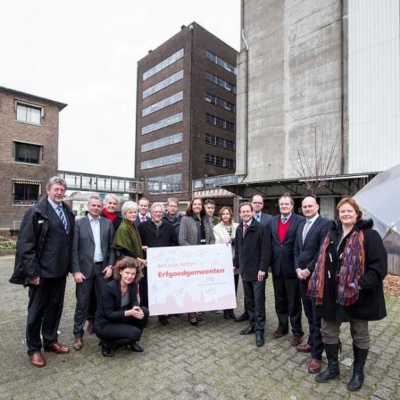 Oprichting Bestuurlijk Platform Erfgoedgemeenten. Foto: Hielco Kuipers, Leiden