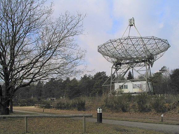 Dwingeloo observatorium. Foto: Harm Munk