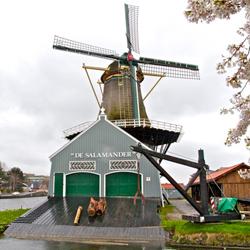 Houtzaagmolen de Salamander. Foto via monumenten.nl