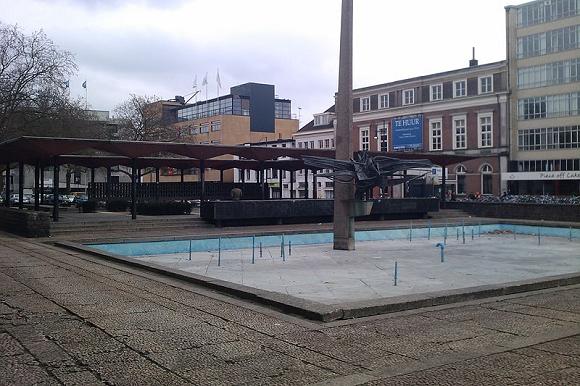 AKU fontein Arnhem. Foto: Pompidom