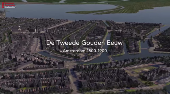 screenshot animatie Stadsarchief Amsterdam