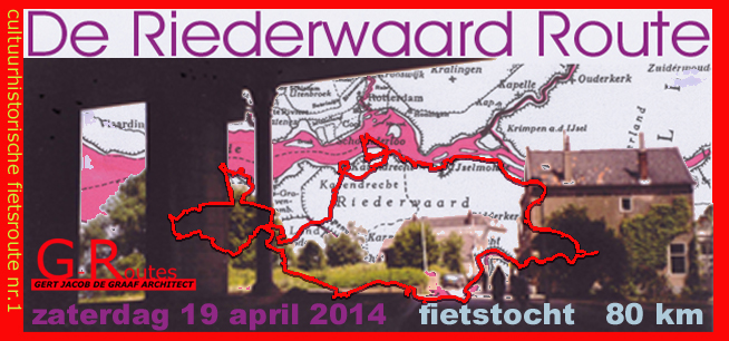 flyer Riederwaard Route 2014