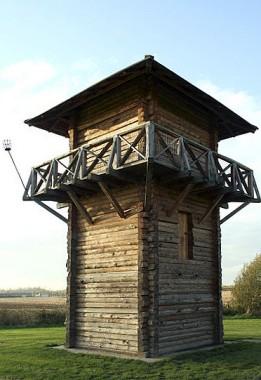 Romeinse wachttoren bij Vechten - foto: Niels Bosboom via Wikimedia Commons