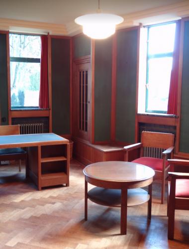 Berlage-interieur raadhuis Usquert