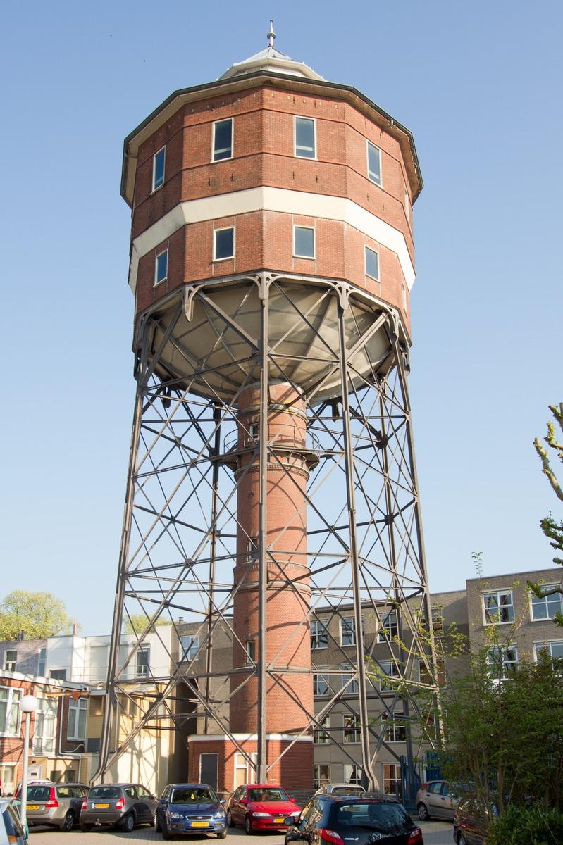 Watertoren-Noord: Watertoren Noorderbinnensingel, Groningen. Foto: Mark Sekuur (Rijksdienst voor het Cultureel Erfgoed)