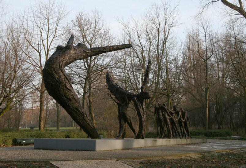 Het Nationaal Monument Slavernijverleden in het Oosterpark in Amsterdam