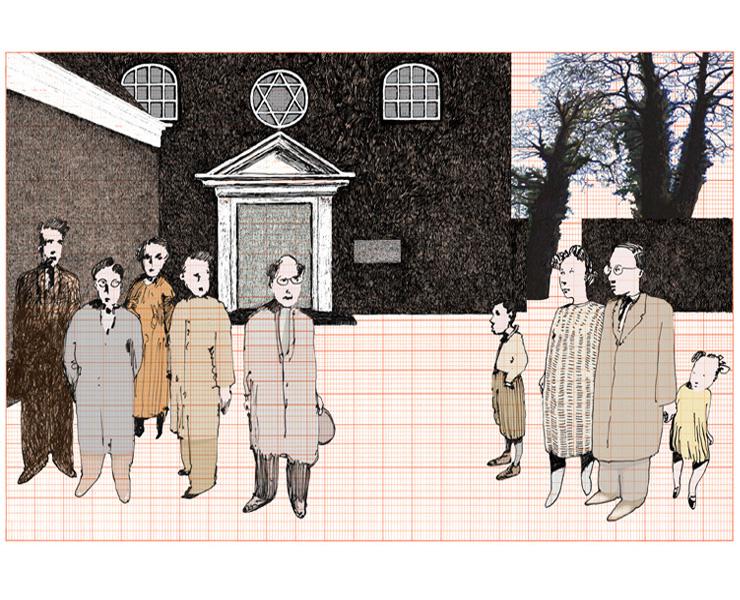 Illustratie Sytse van der Zee – met het verhaal Appingedam – de synagoge de inspiratiebron voor de eerste prijswinnaar