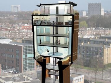 Watertoren Rotsoord, Foto: Sluijmer en Van Leeuwen
