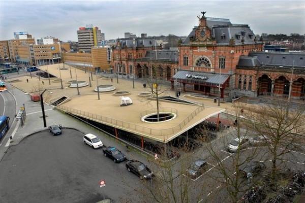 Station, Groningen Foto: groningen.nl